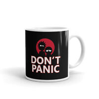 Rick And Morty Don't Panic Coffee Tea Ceramic Mug Office Work Cup Gift