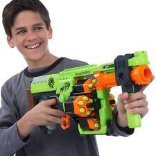 Pistola De Zombie nerf strike Doominator Blaster Juguete Incluye 24 dardos no recarga