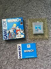 GameBoy game - Paperboy 1 (CIB, boxed) (great condition)