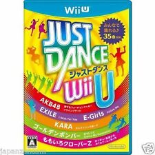 Used Wii U JUST DANCE R Wii  JAPANESE VERSION IMPORT NINTENDO