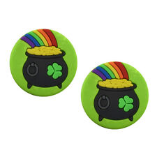 Pot of Gold St Patrick's Tennis Vibration Dampener 2 Pack by Racket Expressions