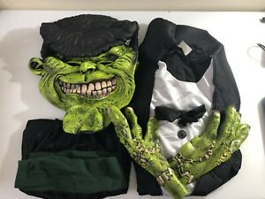 California Costumes Big Frank Frankenstein costume-MISSING INFLATABLE SHOULDERS
