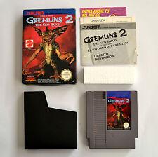 [ NES ] Gremlins 2  PAL A ITA Usato Nintendo Scatolato con Manuale Mattel
