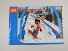 Lego Sports Snowboard Boarder Cross Race (3538) MANUAL INSTRUCTION BOOK ONLY