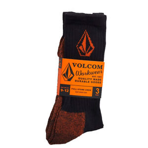 Volcom Workwear Mens 3 Pack Socks