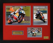 Mick Doohan Limited Edition Framed Signed Memorabilia