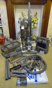 KIRBY SENTRIA 2 VACUUM CLEANER WITH HOSE, CADDY, TOOLS AS PICTURED & SHAMPOOER