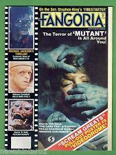 #LL. FANGORIA HORROR MOVIE  MAKEUP MAGAZINE #34, Vol. 3, 1984