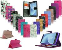 For Alcatel 1 5033X New Card Holder Universal Leather Wallet Phone Case Cover