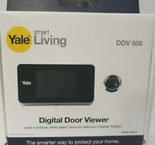 Yale Smart Vivente Digitale Spia Porta Standard Ddv 500 Argento