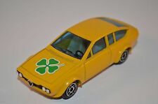 Dinky Toys 1405 Alfa Alfetta GTV yellow in 99.9% mint original condition