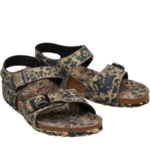 Birkenstock Boys New York Camo Sandals Grun  Size UK 13/13.5 rrp £74.99