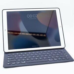 """Apple iPad Pro 1st Gen 128GB Wi-Fi + 4G EE 12.9"""" Gold - SMART KEYBOARD - Grade A"""