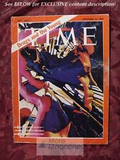 TIME magazine September 26 1969 Sept 9/26/69 DRUGS AND THE YOUNG +++