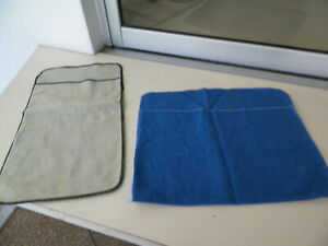 "LOT OF 2 ANTI TARNISH STERLING STORAGE POUCHES 12 & 13"" X 8 1/4"""
