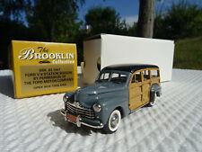 Voiture Brooklin Models Collection Ford V8 Station Wagon 1947 - BRK 83 -