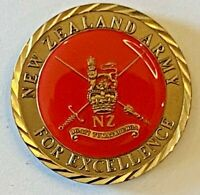 New Zealand Sergeant Major of the Army Challenge Coin presented for Excellence