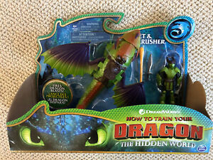 How to Train Dragon Hidden World ERET & SKULLCRUSHER Action Figure Scale Armor