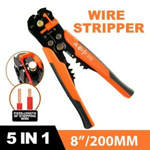Automatic Wire Cutter Stripper Pliers Electrical Cable Crimper