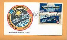 APOLLO-SOYUZ  LINK-UP JULY 24,1975 SAN FRANCISCO CA KENNEDY SPACE CENTER ***