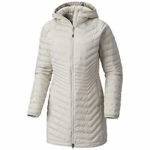 COLUMBIA Women's POWDER LITE MID Jacket, Cloud Grey, size XS