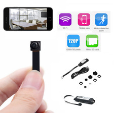 Hidden Remote P2P HD DVR CCTV SD WiFi IP Wireless mini Spy Nanny Pinhole Camera