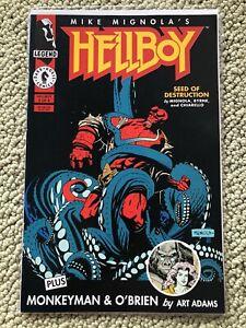 Hellboy Seed of Destruction #2 First Abe Sapien Liz Sherman Fine+ Mid-Grade