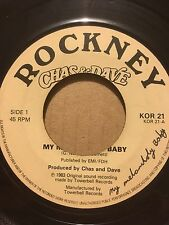 """CHAS AND DAVE 7"""" - MY MELANCHOLY BABY / KNEES-UP MEDLEY - ROCKNEY KOR 21"""