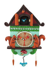 Allen Designs `Cuckoo Bird` Wall Mounted Pendulum Clock