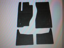 Jeep Commander heavy rubber slush floor mats 82209071AC Mopar accessory