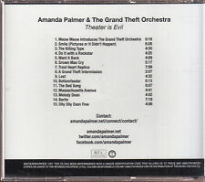 amanda palmer & the grand theft orchestra theater is evil cd limited edition