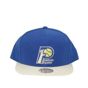 Indiana Pacers Replay Tonal Corduroy 2 Tone Snapback Mitchell and Ness