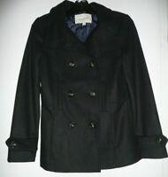Thread & Supply Women's Wool Blend Jacket Peacoat Black Size Small