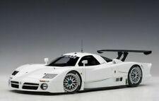 1:18 Autoart 89877 Nissan R390 Gt1 L. con 1998 Gloss Blanco Lmtd. Edición