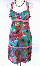 DKNY Jeans Donna Karen NY Multi-Color Floral Sundress - S, Dress, Babydoll, Pink