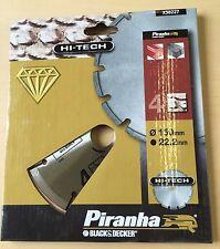 PIRANHA HI-TECH 150MM DIAMOND CUTTING BLADE 22.2mm Bore X38227