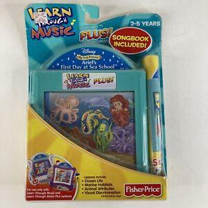 Learn Through Music Disney Ariel's First Day at Sea School  Cartridge - NEW