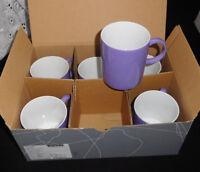 THOMAS Sunny Day  Lavender  6 Becher mit Henkel 0,3 L. Neuware & Ovp