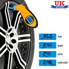 LCD Digital Tyre Air Pressure Gauge For Auto Car Motorcycle Van UK STOCK
