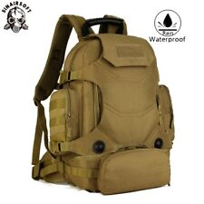 40L Army Shoulder Bag Hiking Camping Military Tactical Rucksack Backpack Gear AU
