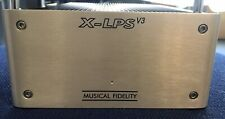 Excellent Musical fidelity X-LPS V3 Phono Amplifier In Original Box