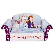 Marshmallow Furniture, Children's 2-in-1 Flip Open Foam Sofa, Frozen 2, by Spin