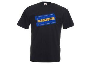 Blockbuster Video - Retro Vintage Video Rental Store Logo Novelty Joke T-Shirt