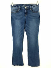 Aeropostale Womens 6S Jeans Boot Cut Medium Wash Low Rise Short Actual 29 x 27.5