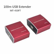 100m 330ft USB Extender Booster Repeater Amplifier over Cat5e/6 Lan Cable