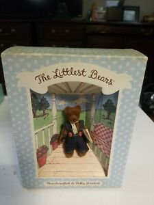 NIB Vintage Gund The Littlest Bears Grandfather 7003 - Fully Jointed 1994