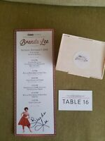 BRENDA LEE AUTOGRAPH PACKAGE RARE 1 OF ONLY 250 SIGNED!! GEORGIA MUSIC LEGEND