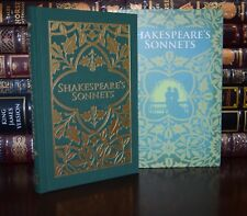 Shakespeare's Sonnets Illustrated New Deluxe Collectible Hardcover Slipcase Gift