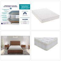Signature Sleep GOLD Full Size 8 Inch Independently Encased Coil Bed Mattress