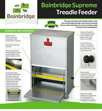HUGE 20 KG Capacity Quality Made Automatic Chicken / Poultry Treadle Feeder